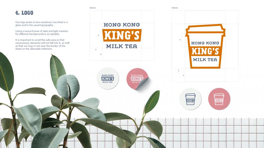 Hong Kong King's Milk Tea Brandbook