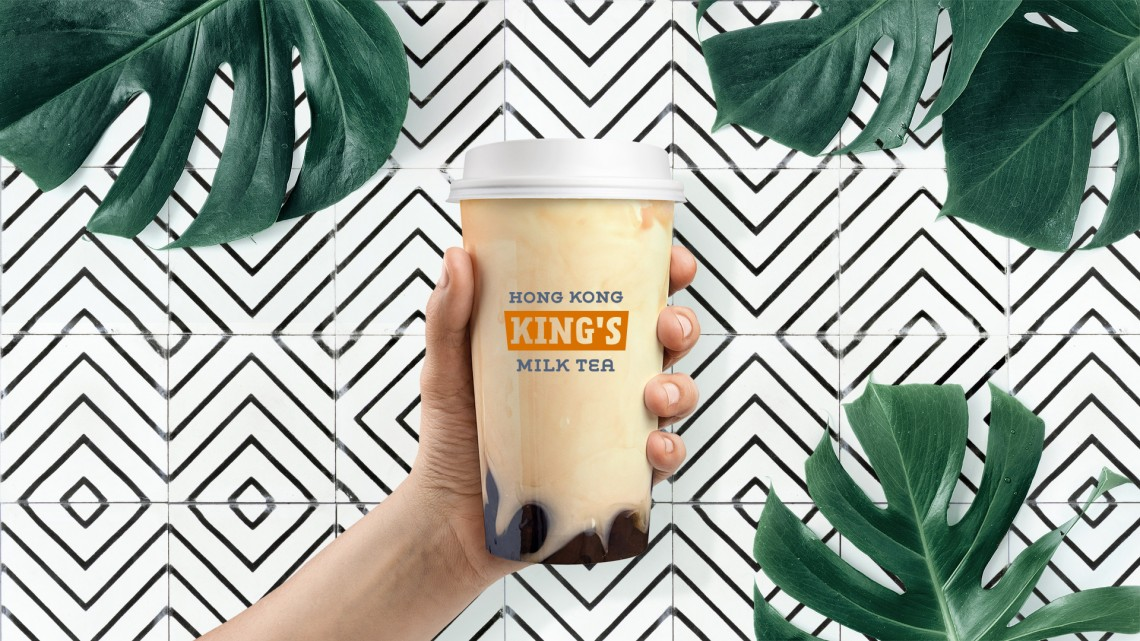 Hong Kong King's Milk Tea Brandbook