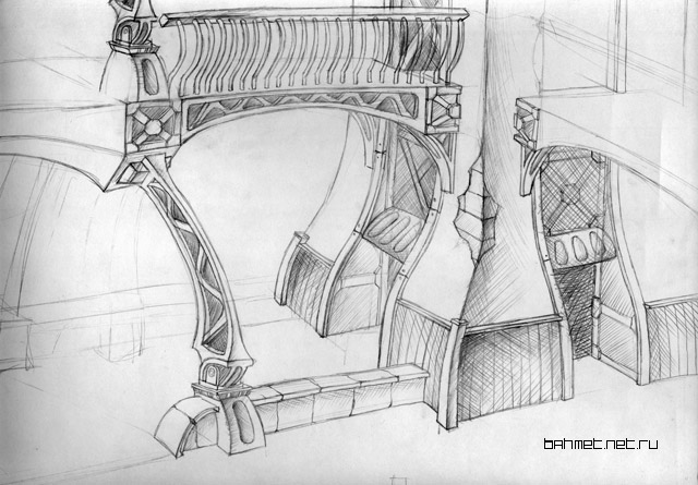 Sketches of architecture